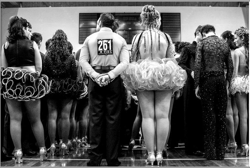 Andrea Samaritani, Gara di danza, San Marino, dal libro fotografico Lo sguardo felice del fotoreporter. © Andrea Samaritani.