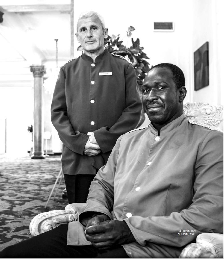 Andrea Samaritani, Grand Hotel, Rimini, 2008, dal libro fotografico Lo sguardo felice del fotoreporter. © Andrea Samaritani.