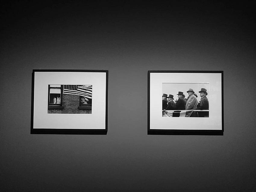 Un dettaglio dell'allestimento della mostra Robert Frank. Unseen presso C/o Berlin Foundation. © Valeria Sanna/FPmag.