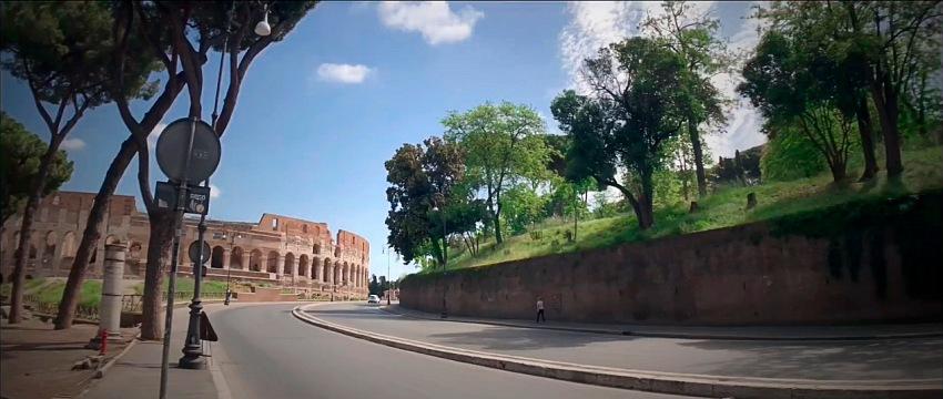 Marco Taormina, Lockdown Roma Cinematic 2020. © Marco Taormina.