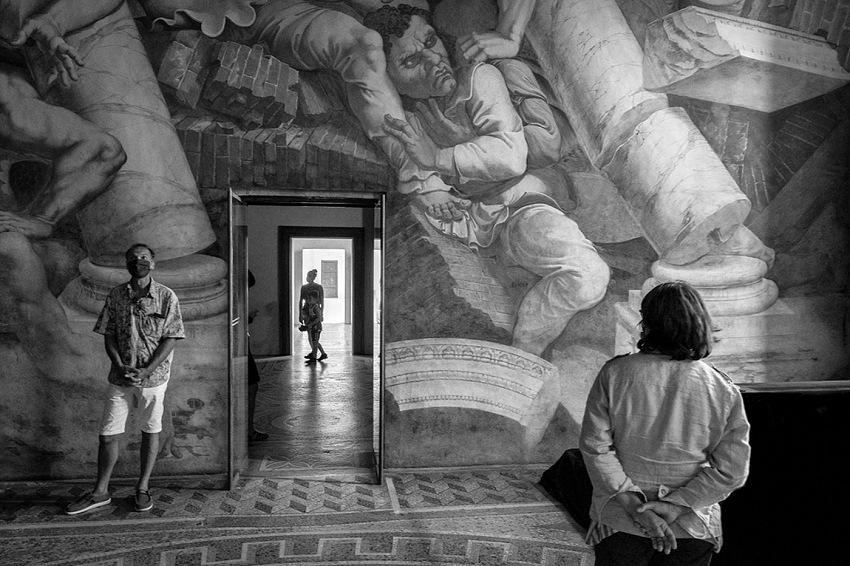 Francesco Mezzina, Camera dei Giganti, Palazzo Te, Mantova. © Francesco Mezzina.