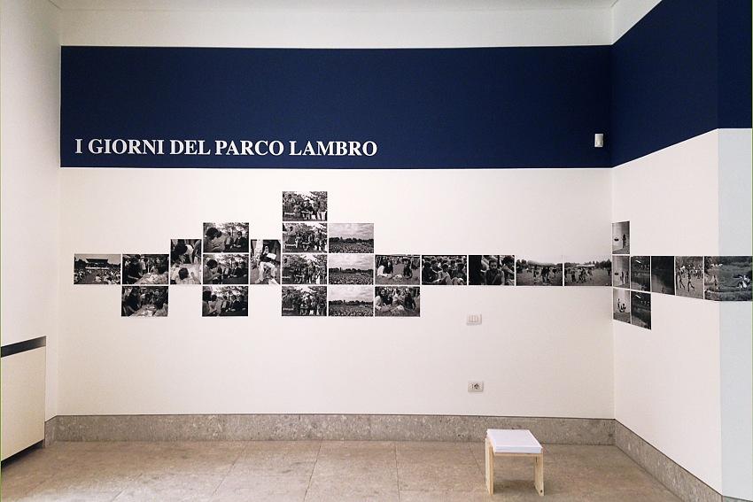 Dalla mostra I giorni del Parco Lambro Continuous days, Milano 29/5/1975 – 26/6/1976 di Dino Fracchia. © Pio Tarantini.