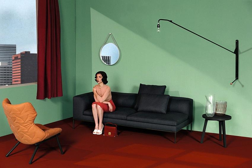 Dalla serie Storie di living, dalla mostra Giovanni Gastel, Palazzo della Ragione Fotografia, Milano 23 settembre - 13 novembre 2016. © Giovanni Gastel.