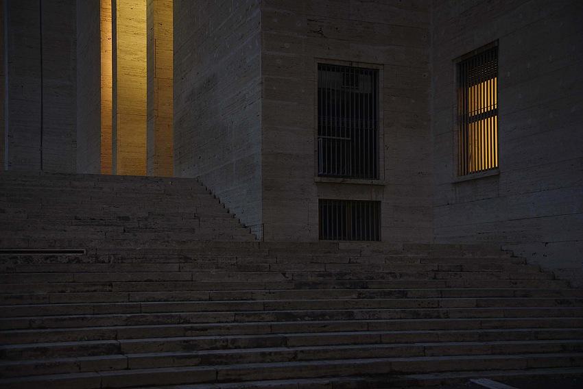Roma, Università La Sapienza, Rettorato dalla mostra La città nascosta, di Bruno Tobia. © Bruno Tobia