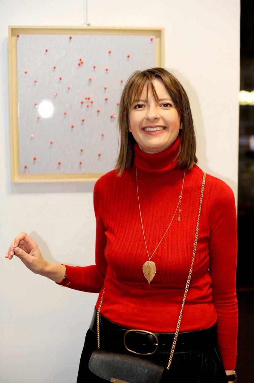 La curatrice e critica Anna Mola. © Margherita Del Piano.