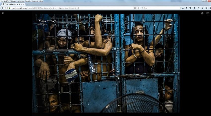 Dal reportage They Are Slaughtering Us Like Animals di Daniel Berehulak, pubblicato il 7 dicembre 2016 sull'edizione online del The New York Times