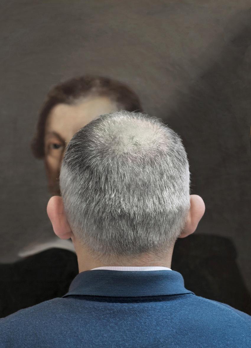 Mario Cresci, Attraverso l'Arte, 2010. © Mario Cresci