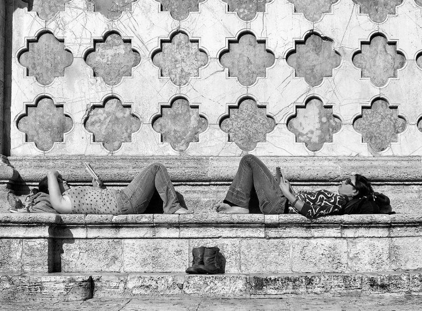 Claudio Montecucco, dalla serie Leggere Perugia, 2013. © Claudio Montecucco.