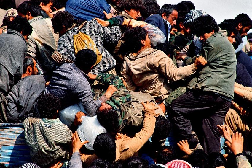 Livio Senigalliesi, Kurdistan, Iraq, 1991. © Livio Senigalliesi.