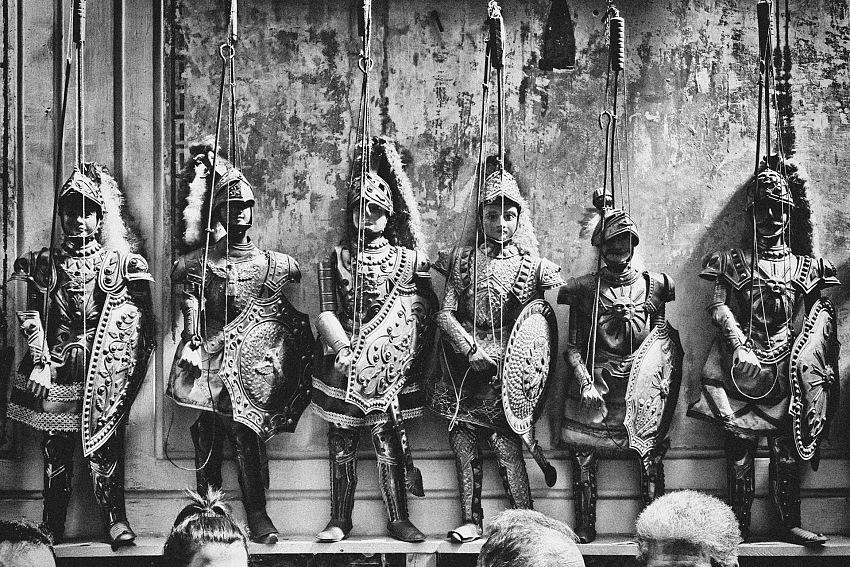 Palermo. Gli eroici Pupi della tradizione siciliana. © Davide Bologna.