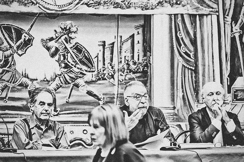 Palermo. Non sono mancate le tensioni tra relatori e moderatori. © Davide Bologna.