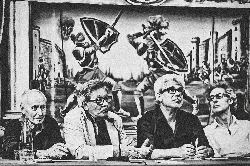Palermo. Fotografi e docenti ricordano quanto fatto fino ad ora. © Davide Bologna.