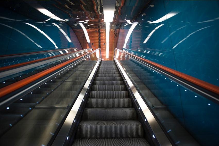 Alessandro Capurso, La metropolitana di Napoli. © Alessandro Capurso.