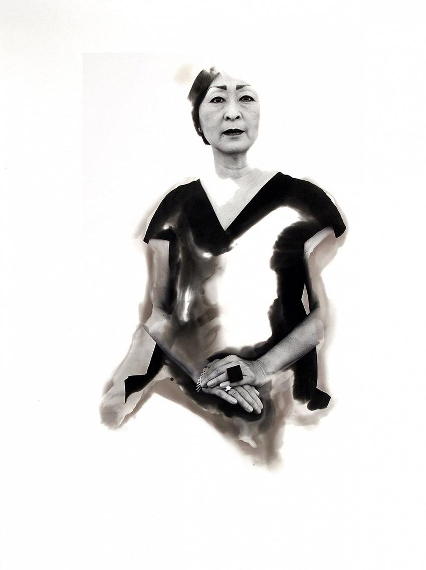 Aldo Palazzolo, Allegra Chiang, 2003, Gelatin Silver Print 40x30cm. © Aldo Palazzolo.
