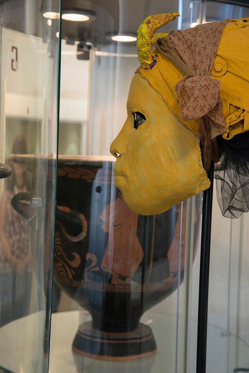 Pio Tarantini, All'interno del Museo Faldetta, Brindisi. © Pio Tarantini.