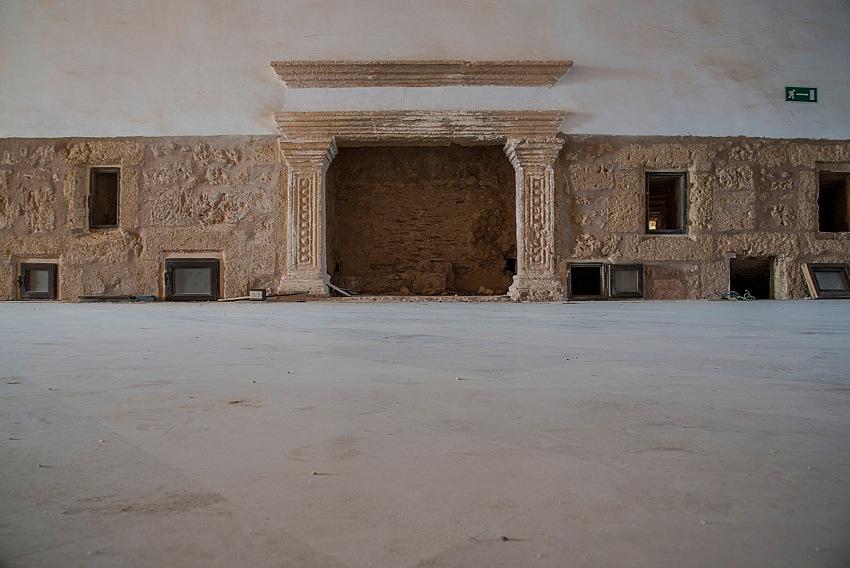 Pio Tarantini, Interno del Castello Alfonsino Aragonese, Brindisi. © Pio Tarantini.