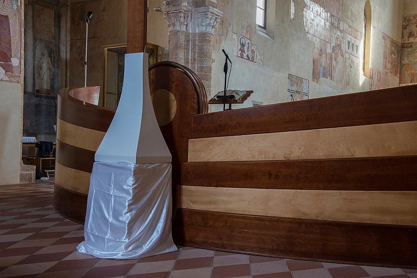 Pio Tarantini, Interno di Santa Maria del Casale, Brindisi. © Pio Tarantini.