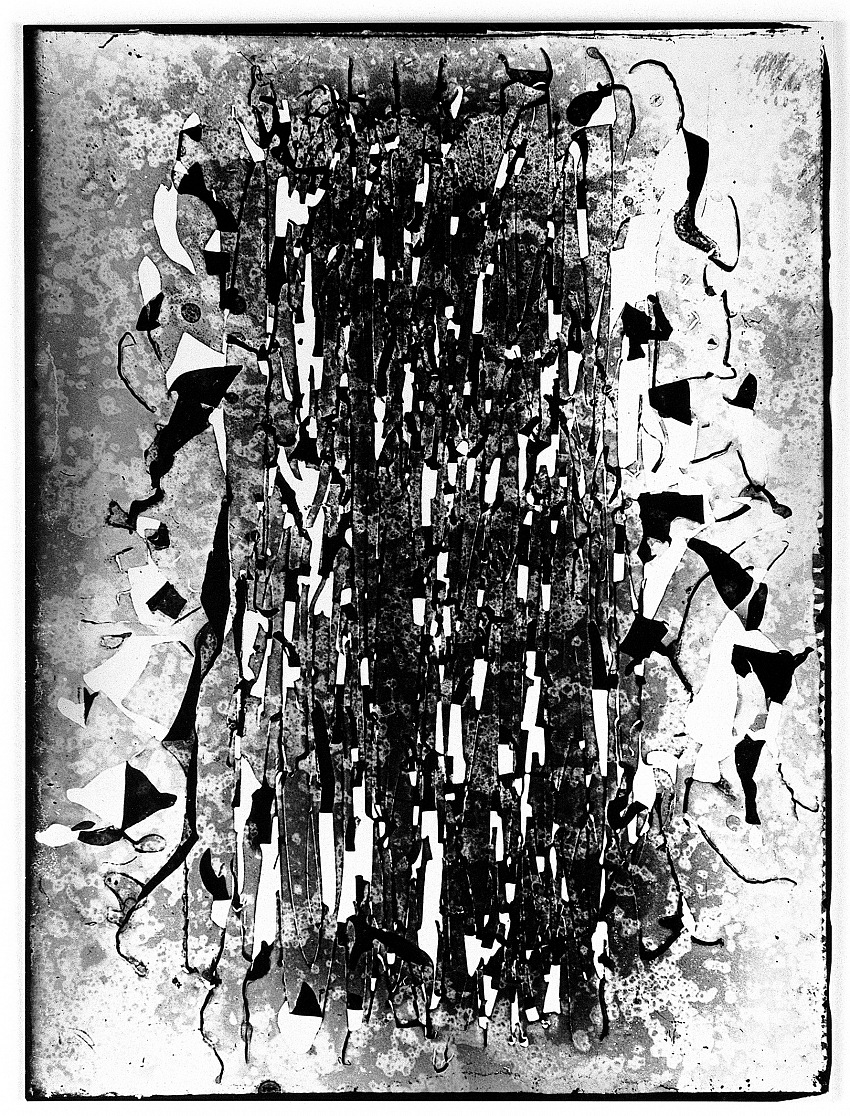 Nino Migliori, dalla serie Cliché-verre, 1955_1958. © Nino Migliori.