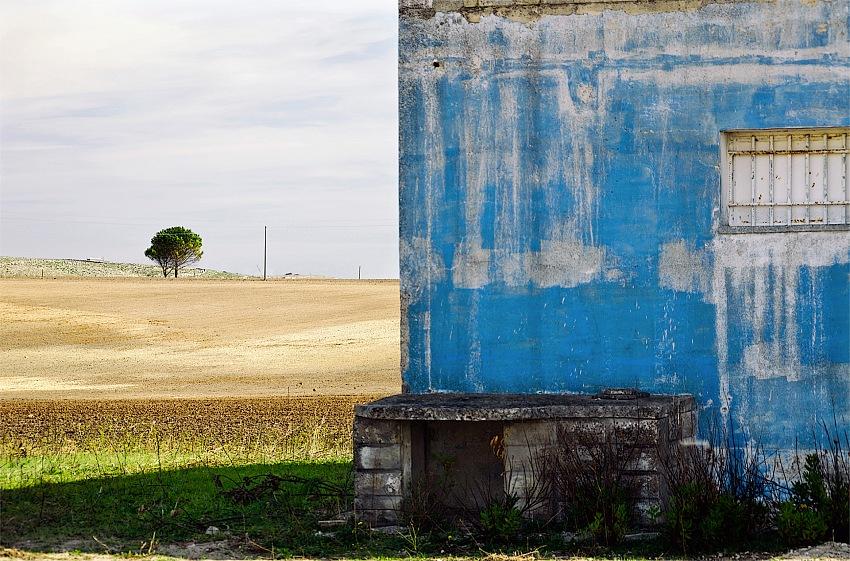 Ferdinando Sapienza, La casa blu. © Ferdinanso Sapienza.