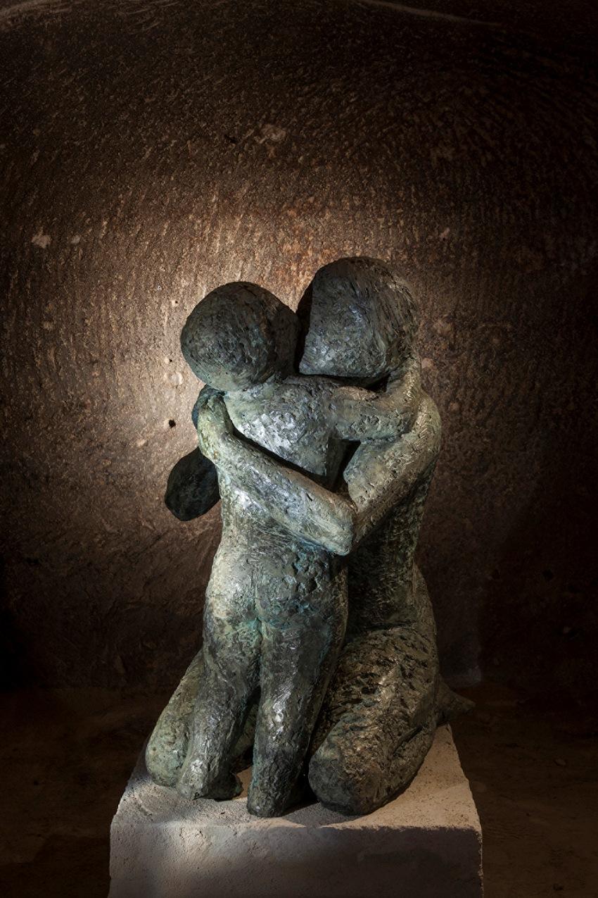 Antonello Di Gennaro, dalla serie Innamorarsi dell'arte. © Antonello Di Gennaro.