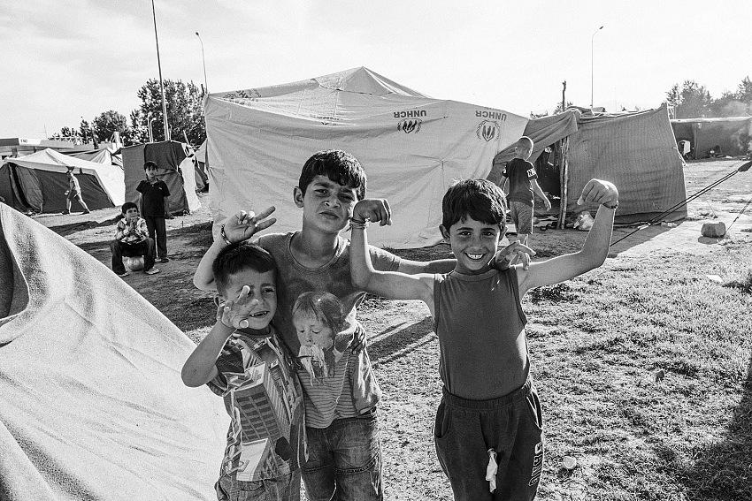 Graziano Perotti,Eki Camp Station, Idomeni, Grecia. © Graziano Perotti.