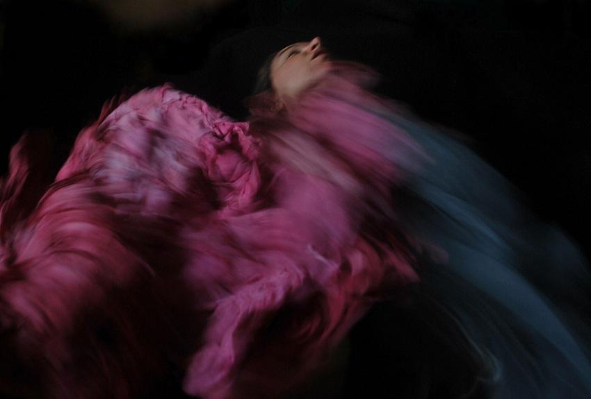 Ilaria Facci, L'altra Terra di Dio, self-portrait. © Ilaria Facci.