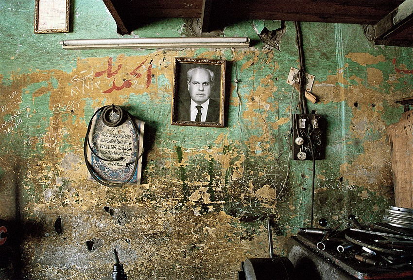 Taysir Batniji, dalla serie Pères, 2006. Courtesy l'artista e la galerie Sfeir-Semler Beyrouth/Hambourg.